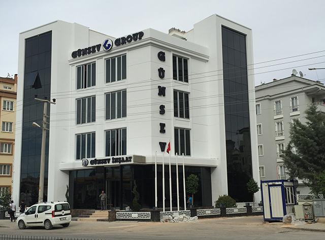 Günsev Group Rasaf yolundaki  yeni idari binasına taşındı.