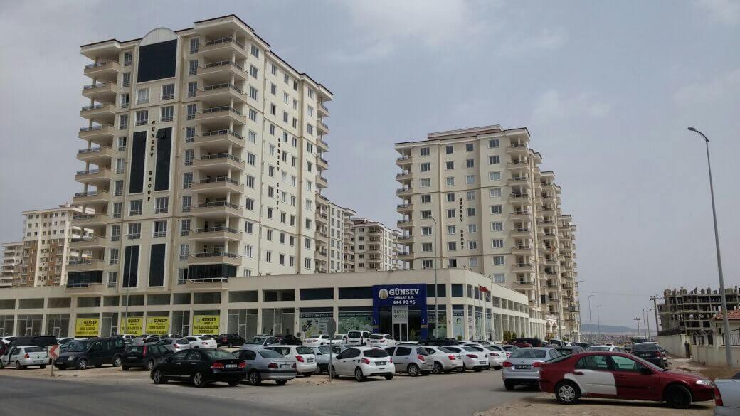Günsev 2 Sitesi İnşaatı Tamamlandı, Satışları Devam Ediyor.