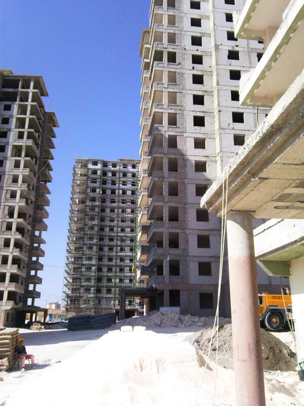 Günsev 3 Sitesi İnşaatı Devam Ediyor.